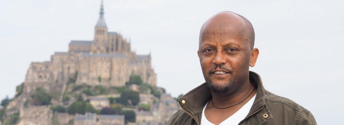Amanuel au Mont Saint Michel