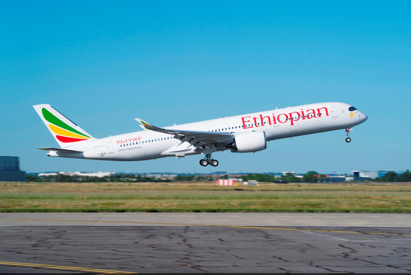 Avion Ethiopian Airline
