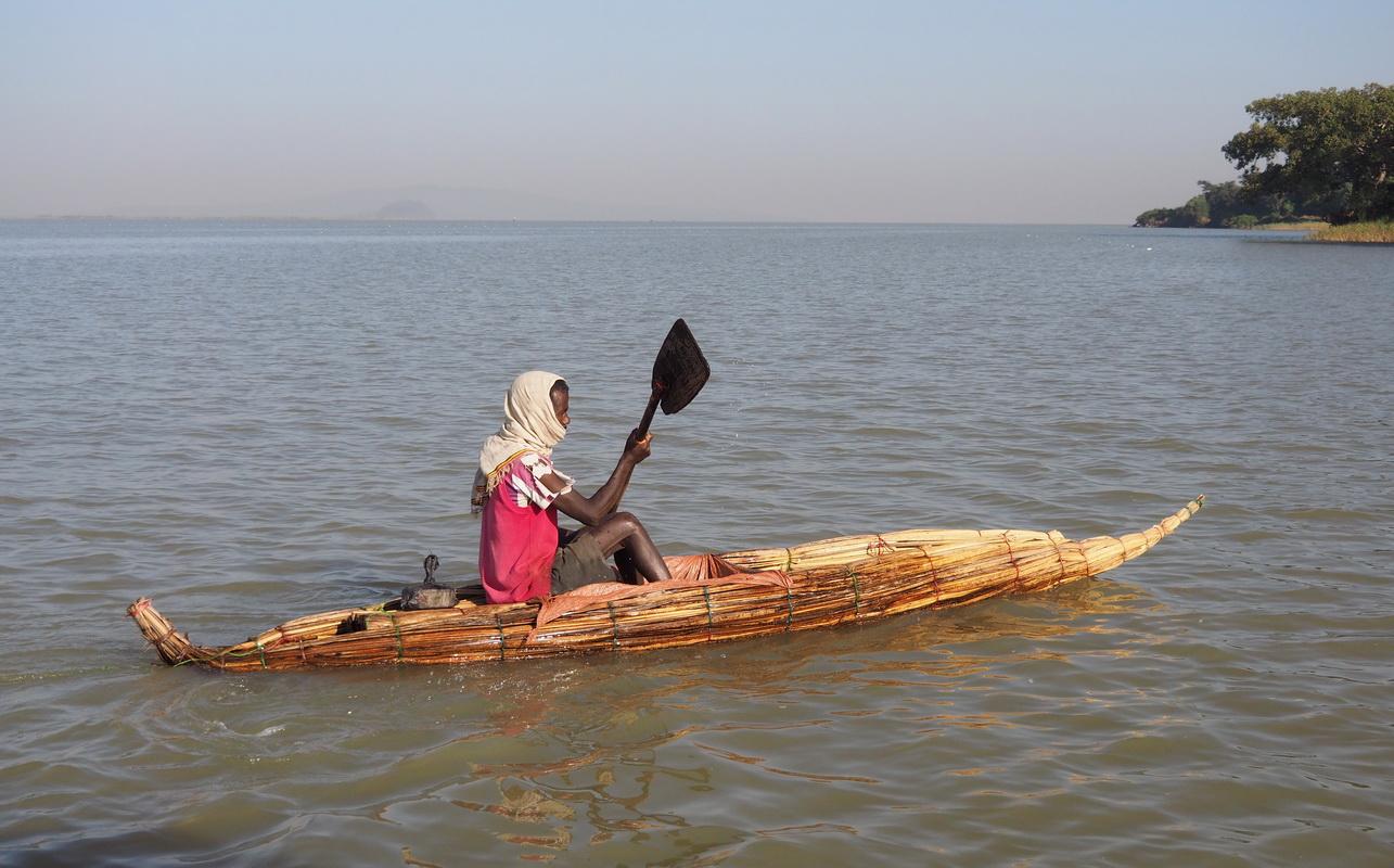 Tankwa du lac Tana en Ethiopie