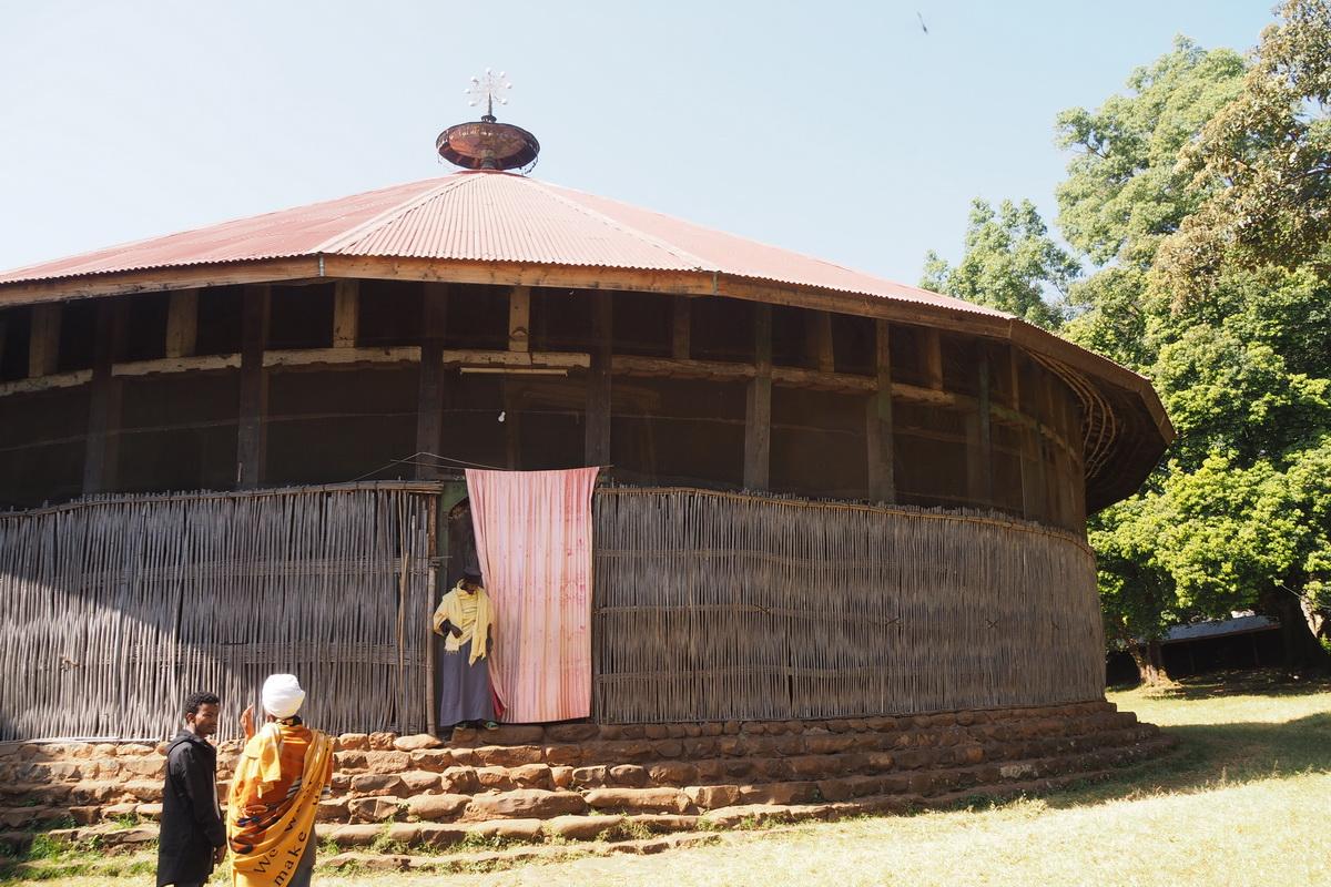 Péninsule de Zeghe - Eglise Ura Kidane Me